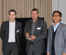 Preisverleihung des LG Marketing Award im Februar 2013