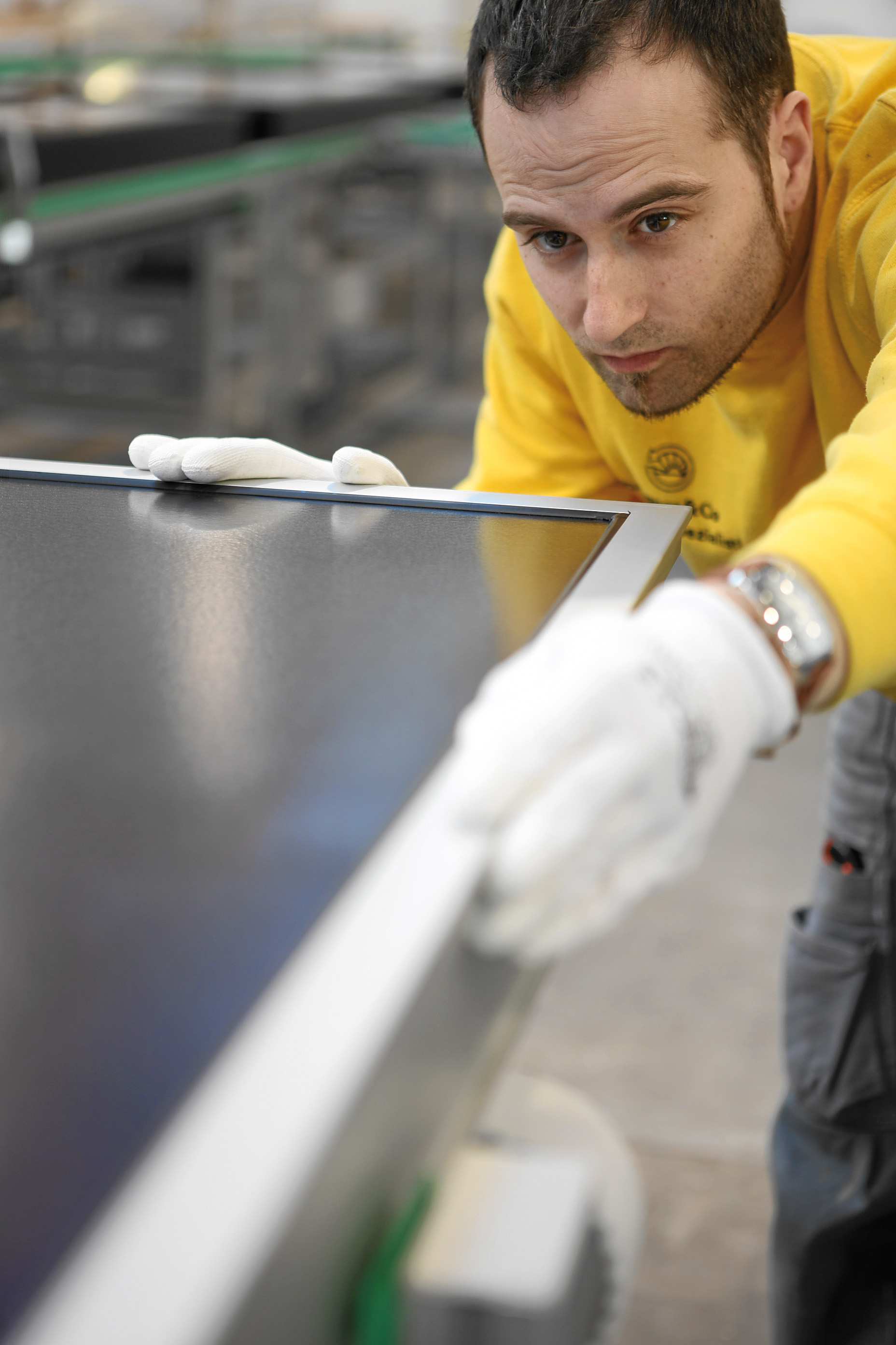 Meticulous quality control at Wagner Solar factory in Germany